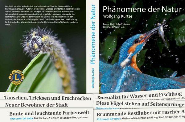 Phänomene der Natur - Buchumschlag